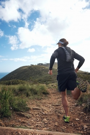 Impact of running on the mountainous nature trail  on mental health